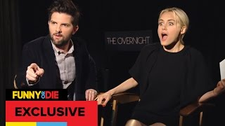 The Cast Of The Overnight Hates Adam Scott