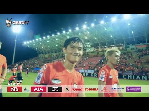 CRUTDTV Highlight 2015 21-06-58 Chiangrai United 1-1 Chonburi FC [HD]