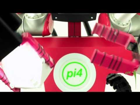 Kiosk-Roboter von pi4