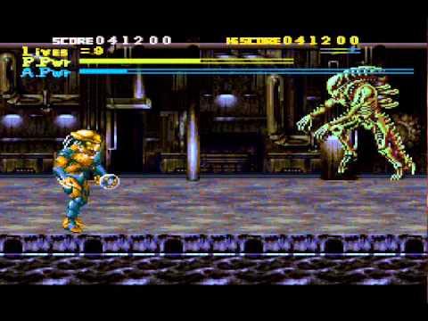 Alien vs Predator Super Nintendo