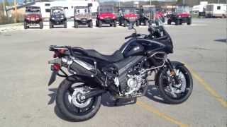 11. 2012 Suzuki V-Strom 650 ABS Adventure in Glass Sparkle Black at Tommy's MotorSports