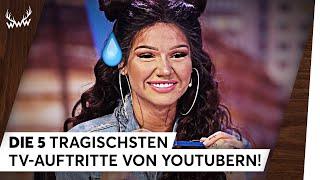 Video Die 5 tragischsten TV-Auftritte von YouTubern! | TOP 5 MP3, 3GP, MP4, WEBM, AVI, FLV Agustus 2018