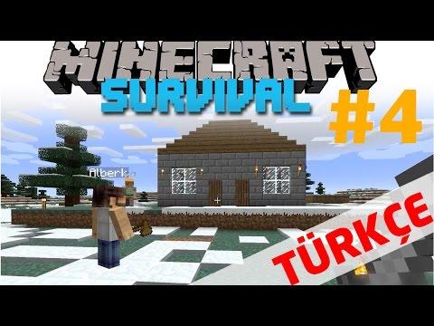 Depomuzu yaptık I Minecraft Türkçe Survival Multiplayer I 4. Bölüm