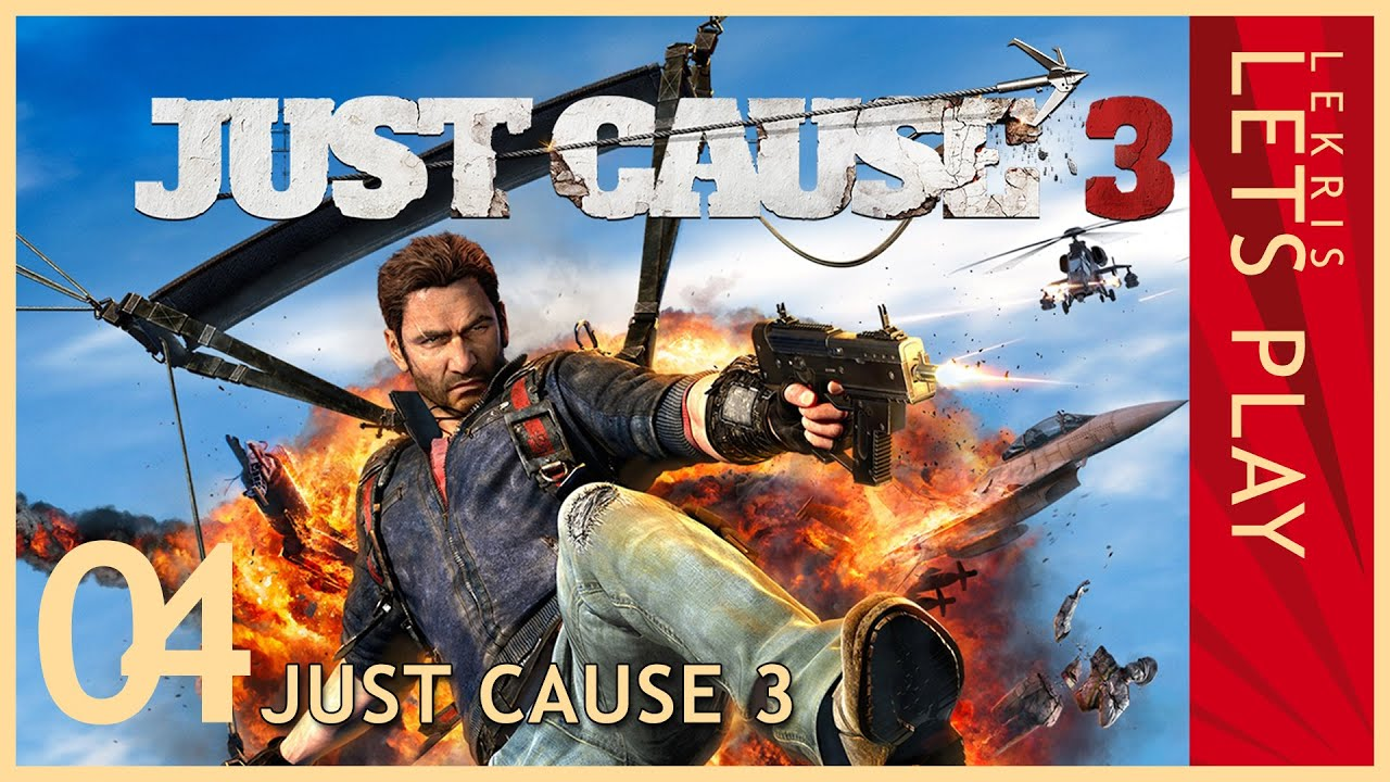 Just Cause 3 - Twitch Stream #04 21.12.2015 - 20:15 - Durch die Dörfer