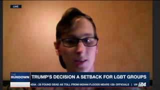 Transgender Riley Dosh, who graduated from West Point military academy, comments on President Trump's ban on trans ...