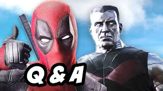 Deadpool Red Band Trailer Q&A - Where Is X Force
