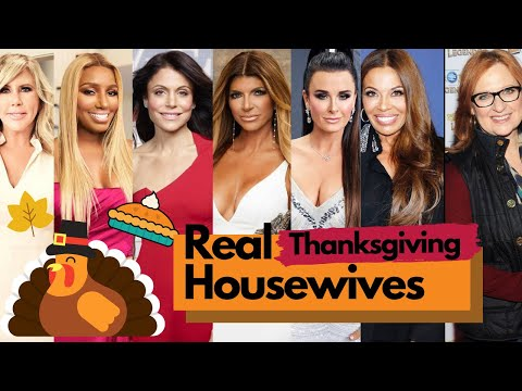 Real Housewives Thanksgiving Episodes!