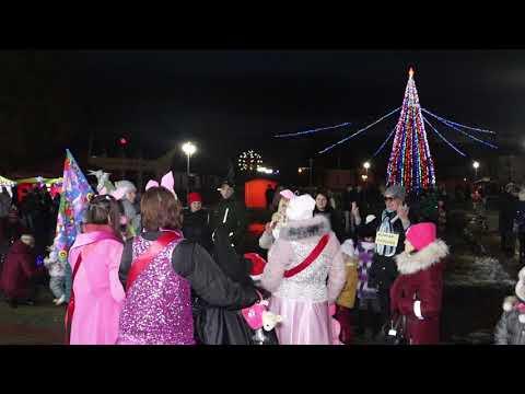 Новогодние сладости и игрушки пользовались популярностью на празднике в Мостах