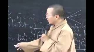 Thành duy thức luận 13: Ý thức - Bản chất và loại hình - Thích Nhật Từ