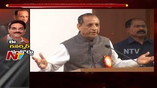 AP Congress, BJP Criticisms on Governor Narasimhan