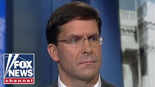 Defense Secretary Esper defends Trump's removal of troops from Northern Syria