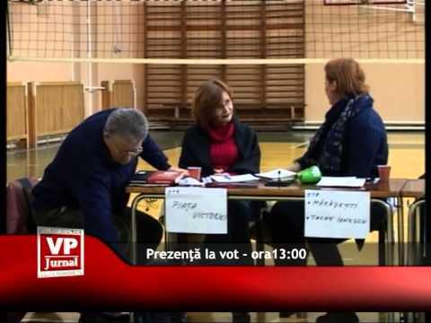 Prezența la vot în Prahova – ora 13.00
