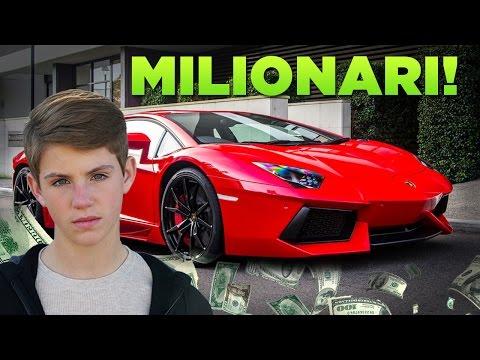 top 5 bambini youtuber milionari!