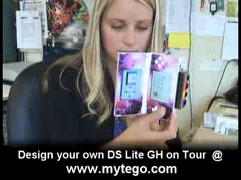 how to make a ds lite skin