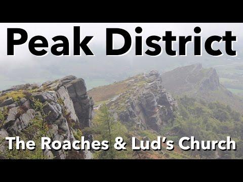 Peak District Walk - The Roaches & Lud's Church