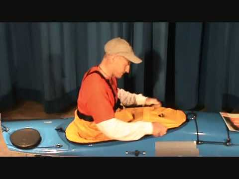 How to Install a Seals Nylon Kayak Sprayskirt