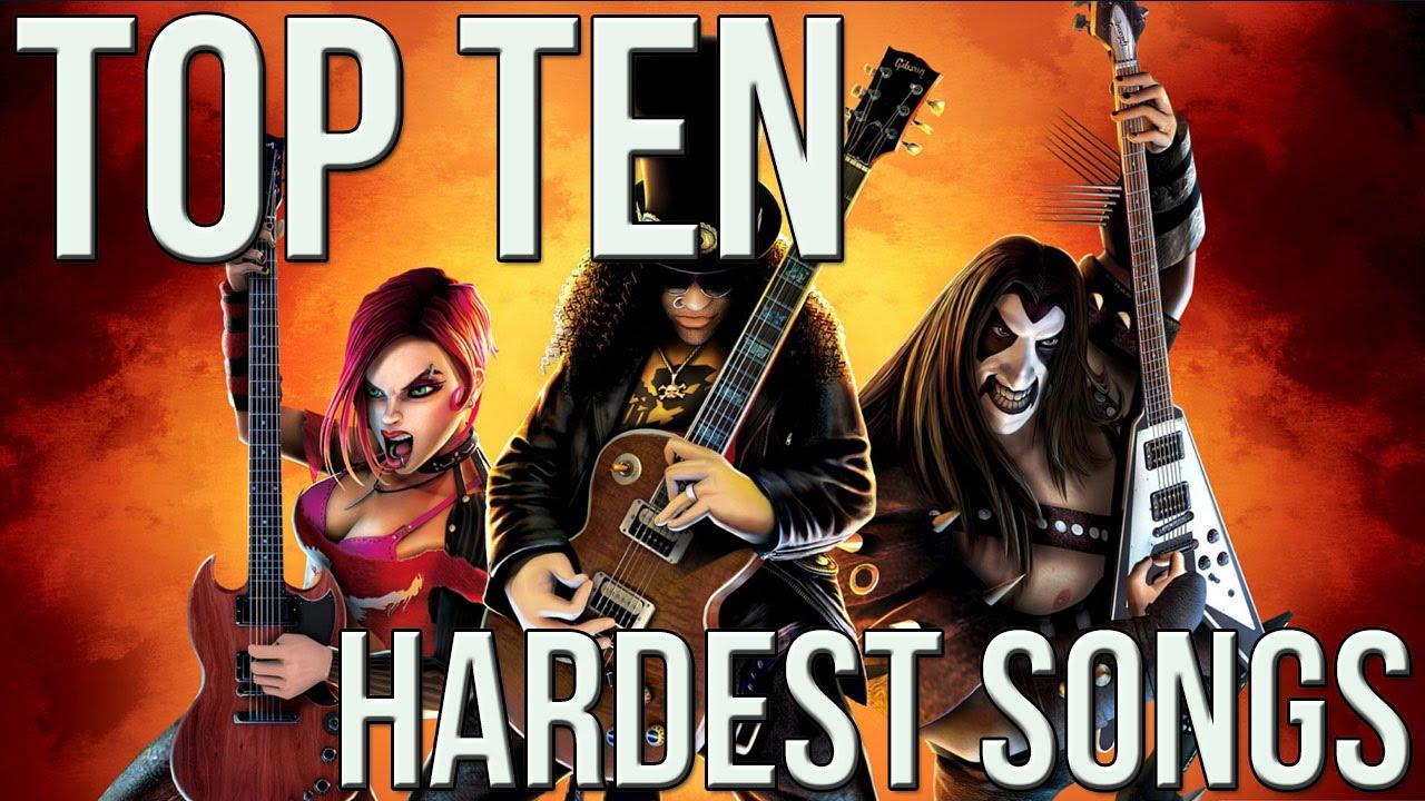 Top 10 Hardest Guitar Hero Songs