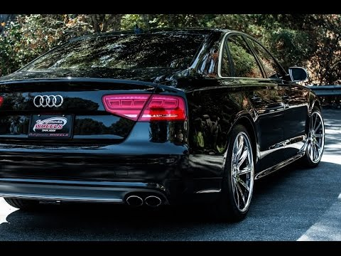 Audi S8 | Savini Forged SV37-P | Savini Wheels | California Wheels