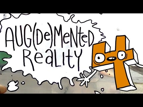 Aug De Mented Reality 4 an Animations of Cute Characters Superimposed Over Real Life