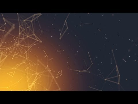 Hot Glowing Geometric Background HD for Motion Graphics
