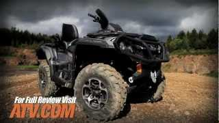 10. 2013 Can-Am Outlander MAX 1000 ATV Review