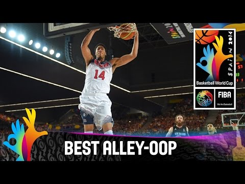 USA - Check out Anthony Davis's great alley-oop dunk against New Zealand. The 2014 FIBA Basketball World Cup will take place in Spain from 30 August - 14 September and will feature the best internationa...