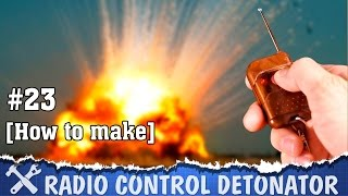 This project is about how to make detonator for distant ignition of some pyrotechnics, of course for safety! And fun. This device based on radio controlled switch, I just add some power and fuse - nichrome wire. This device can ignite black powder or Bickford wire. I will use it for my next projects and handmade pyrotechnics.Relay module✔ http://ali.pub/8p5cx ✔ http://ali.pub/drths ✔ http://ali.pub/ksnbwNichrome wire✔ http://ali.pub/b0x6qStep-up module✔ http://ali.pub/leik9Battery protection✔ http://ali.pub/gj26yConnectors✔ http://ali.pub/e7ndu18650 battery✔ http://alexgyver.ru/18650/Battery holder✔ http://ali.pub/9nkq5Rocker switch✔ http://ali.pub/4892dCone drill ✔ http://ali.pub/vx08r---------------------------------------------Patreon: https://goo.gl/ksXs2xFacebook: https://www.facebook.com/AlexGyver12