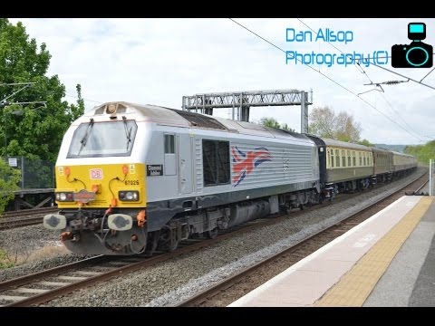DBS 67026 'Diamond Jubilee' with Pathfinder Tours 'The Ce...