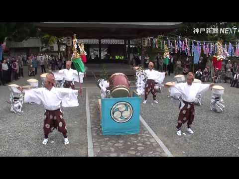 伝統の雨乞い祈願「秋津百石踊」