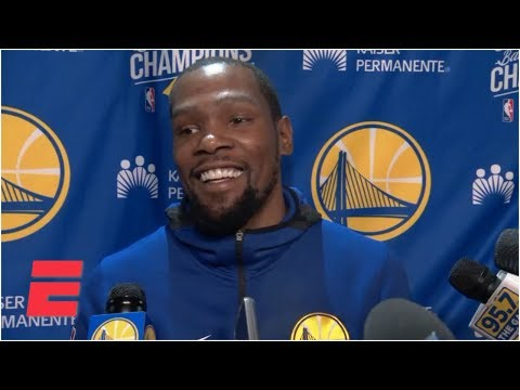 Video: Warriors 'sold out' to feed Klay Thompson the ball - Kevin Durant | NBA on ESPN