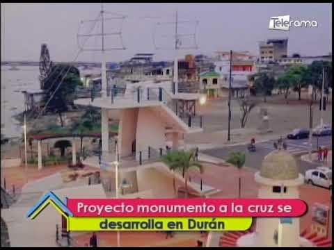 Proyecto monumento a la cruz se desarrolla en Durán
