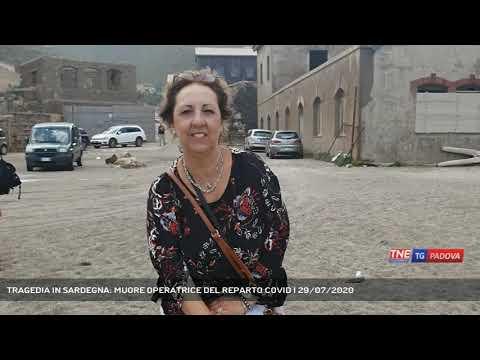 TRAGEDIA IN SARDEGNA: MUORE OPERATRICE DEL REPARTO COVID | 29/07/2020