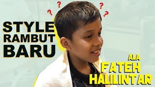 Video Style Rambut Baru Fateh Halilintar MP3, 3GP, MP4, WEBM, AVI, FLV Maret 2019