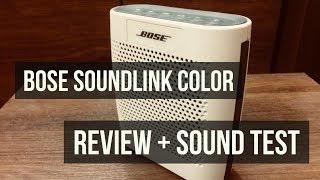 Bose Soundlink Color - UNBIASED Review + SOUND TEST