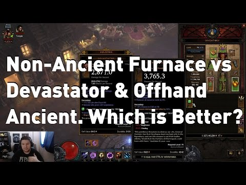 The Furnace vs Ancient Devastator & Offhand. What's Better? Patch 2.1.2