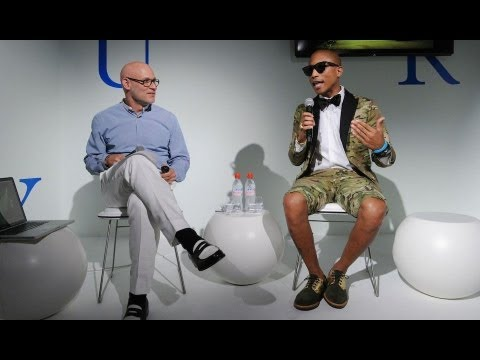 0 Pharrell Williams Speaks at Design Miami | Video