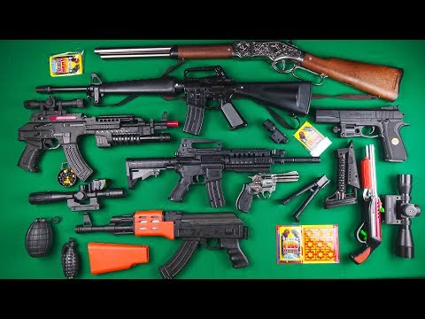 PUBG MOBİLE Toy Guns Rifles And Weapons !! Realistic Pubg Toy Rifles