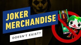 Want To Buy Joker Merchandise? Too Bad, It Barely Exists by IGN