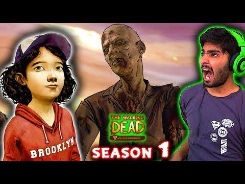 The Walking Dead Hindi Gameplay Walkthrough Full Season 1 (Episodes 1 to 5)