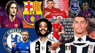 Video MERCADO DE FICHAJES 2019 CONFIRMADOS y rumores! Marcelo, Rabiot, Dybala, Higuain y más! MP3, 3GP, MP4, WEBM, AVI, FLV Juli 2018