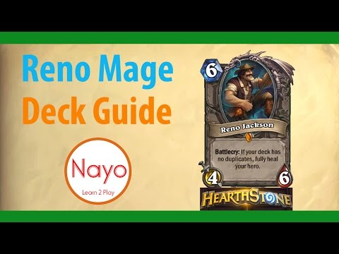 Hearthstone Reno Mage Standard Guide Season 36