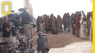 Filming In Morocco   Killing Jesus