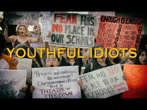 Youthful Idiots Demand Their Rights Be Taken Away By Government