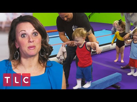 The Babies' First Gymnastics Class! | Sweet Home Sextuplets