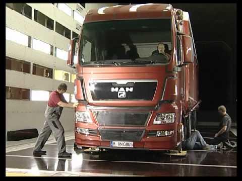Грузовики MAN TGX Truck Wind Tunnel