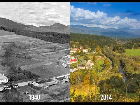 Cesta do minulosti Beňuš 2014 - Timelapse a historické foto