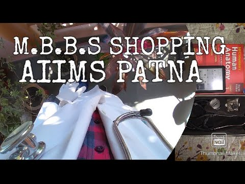 M.B.B.S Shopping | AIIMS PATNA What I have bought for M.B.B.S