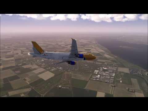 GULF AIR A320 Crash at Netherlands