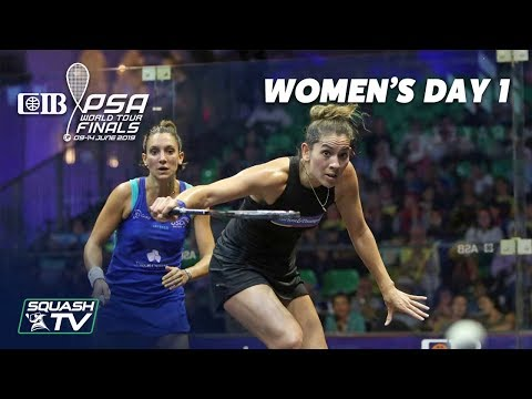Squash: Women's Day 1 Roundup - CIB PSA World Tour Finals 2018/19