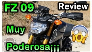 7. Yamaha FZ-09 / MT-09 Muy Poderosa Review en Español 😂